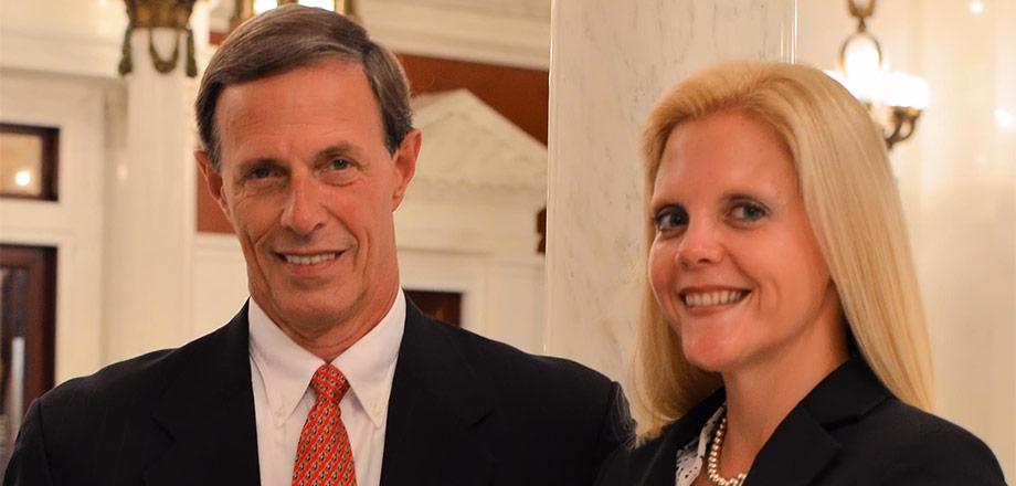 John Nikoloff and Tracy Wingenroth