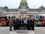 FASP Hosts Fire Apparatus Display at State Capitol