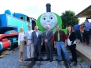 Strasburg Rail Road Unveils Percy at Day Out with Thomas Event